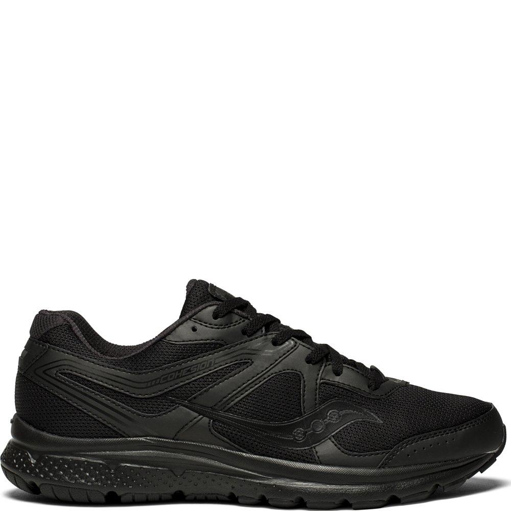 Noir (4) 42.5 EU Saucony Cohesion 11, Chaussures de Fitness Homme