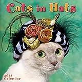 Sellers Publishing 2018 Cats In Hats Mini Calendar (CS0194)
