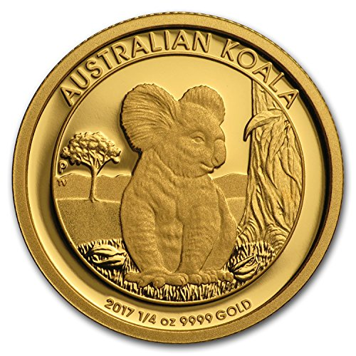 2017 AU Australia 1/4 oz Gold Koala Proof (1/4) Brilliant Uncirculated ()