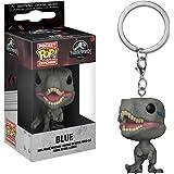 Funko Pop Keychain: Jurassic World 2 - Blue Velociraptor Collectible Figure, Multicolor