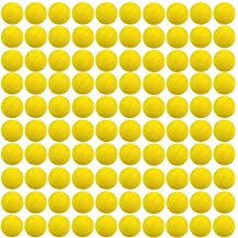 ZJchao 100 Pcs Rounds Refill Compatible Bullet Balls Pack For Nerf Rival Zeus MXV-1200 Apollo XV-700 Blaster