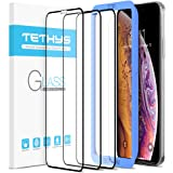 TETHYS Glass Screen Protector Designed for iPhone 11 Pro/iPhone Xs [Edge to Edge Coverage] Full Protection Durable…