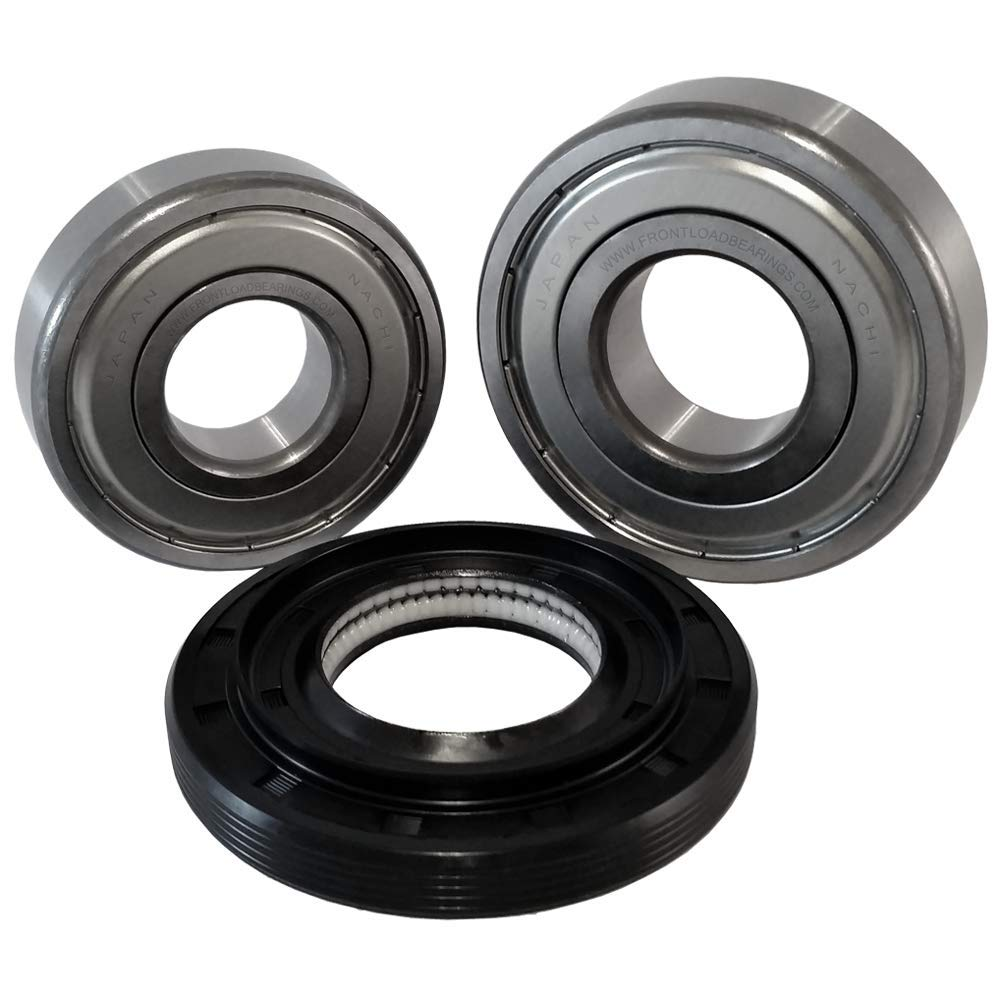 Nachi Front Load LG Washer Tub Bearing and Seal Kit. With seal 4036ER2004A (5 year replacement warranty and full HD''How To'' video included)