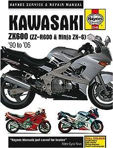 Haynes Kawasaki ZX600 ZX 750 Repair Manual (1985-1997)