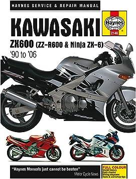 wiring diagram for 85 kawasaki ninja 6 amazon com haynes kawasaki zx600 zx 750 repair manual  1985 1997  kawasaki zx600 zx 750 repair manual