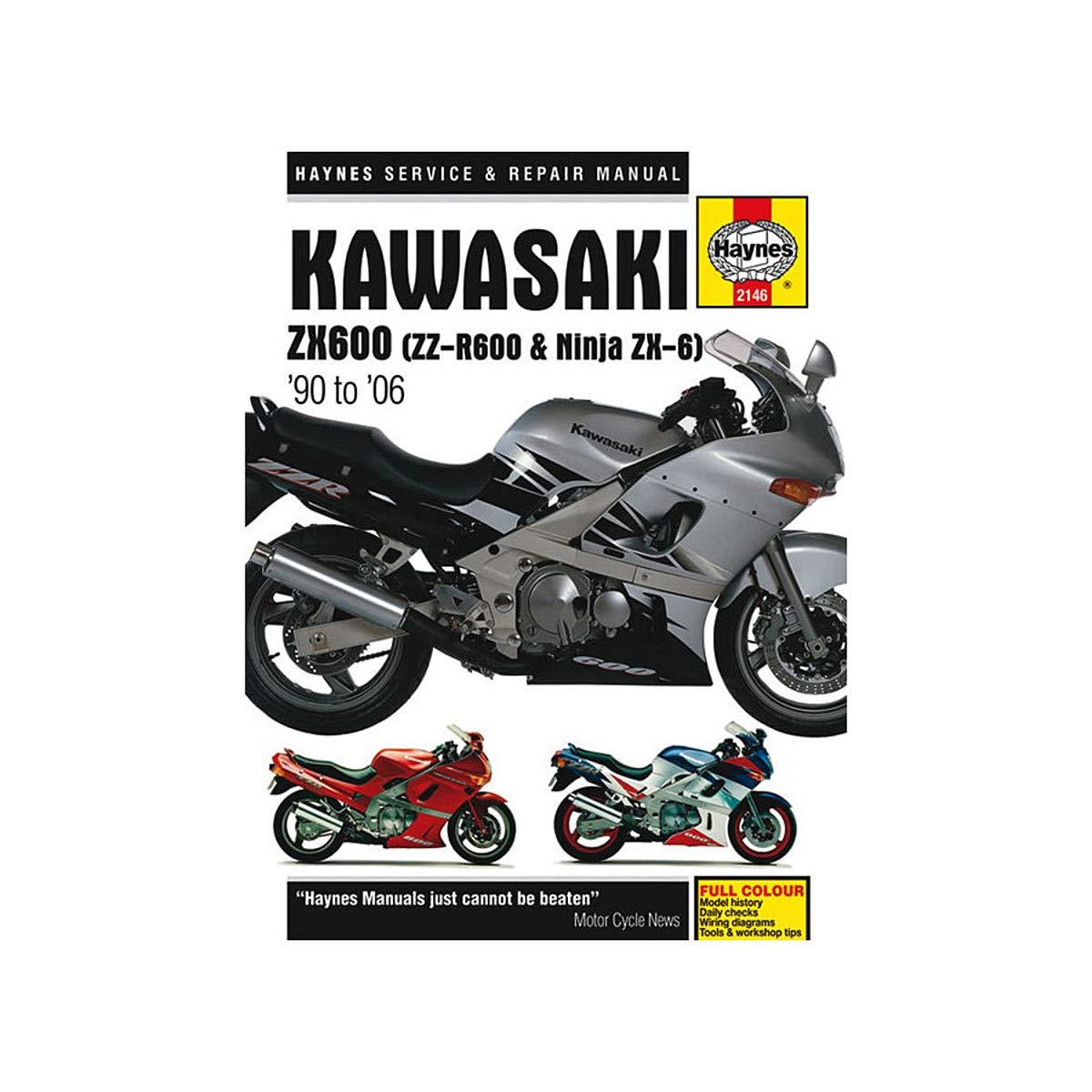 Haynes 91-94 Kawasaki ZX7R Repair Manual on onan parts diagrams, john deere electrical diagrams, mercury outboard 115 hp diagrams, kawasaki trains, kawasaki carburetor diagram, kawasaki 110 atv, kawasaki bayou 220 wiring,