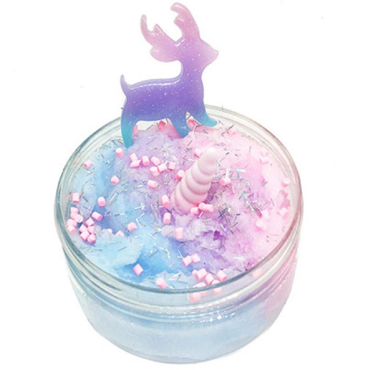 NUOVO Unicorn Squishy Perline anti-stress Giocattolo Morbido