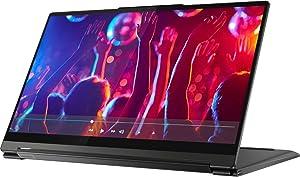 "New Yoga 9i 2-in-1 Laptop 11th Gen Intel Evo i7-1185G7 Iris Xe Graphics 14"" 4K UHD IPS touchscreen Display 500 nits Active Pen Plus Best Notebook Stylus Pen Light (1TB SSD|16GB RAM|4K UHD)10 Pro Black"