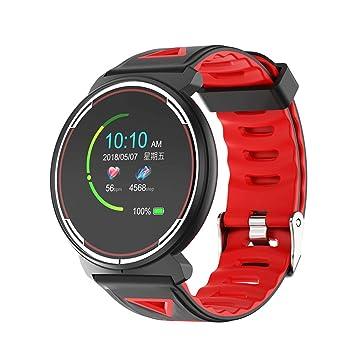 Duang Reloj Inteligente, Smartwatch Hombre Mujer Pulsera Actividad Inteligente IP67 Impermeable 1.3 Pulgadas Pantalla Color Pulsera Podómetro, Monitor ...