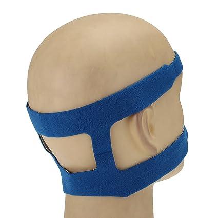 Bluelover Sueño Apnea Ronquidos Máscara Headbrand Para Philips Ventilador Reemplazo Anti Ronquidos Banda