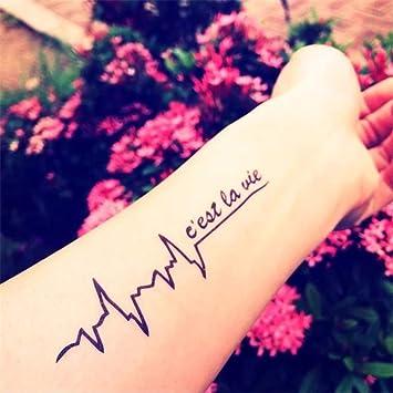 Tatuaje simuladoTatuaje Decalcoma Brazo Impermeable Eco-Friendly ...