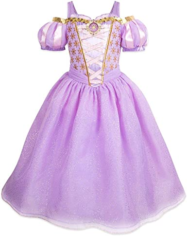 Disney Rapunzel Costume for Kids Tangled The Series Purple