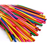 king's deal 200+5 Pcs 260q Twisting Balloons - Assorted Color Twisty Balloons- Professional Party Accessory Packs of 200