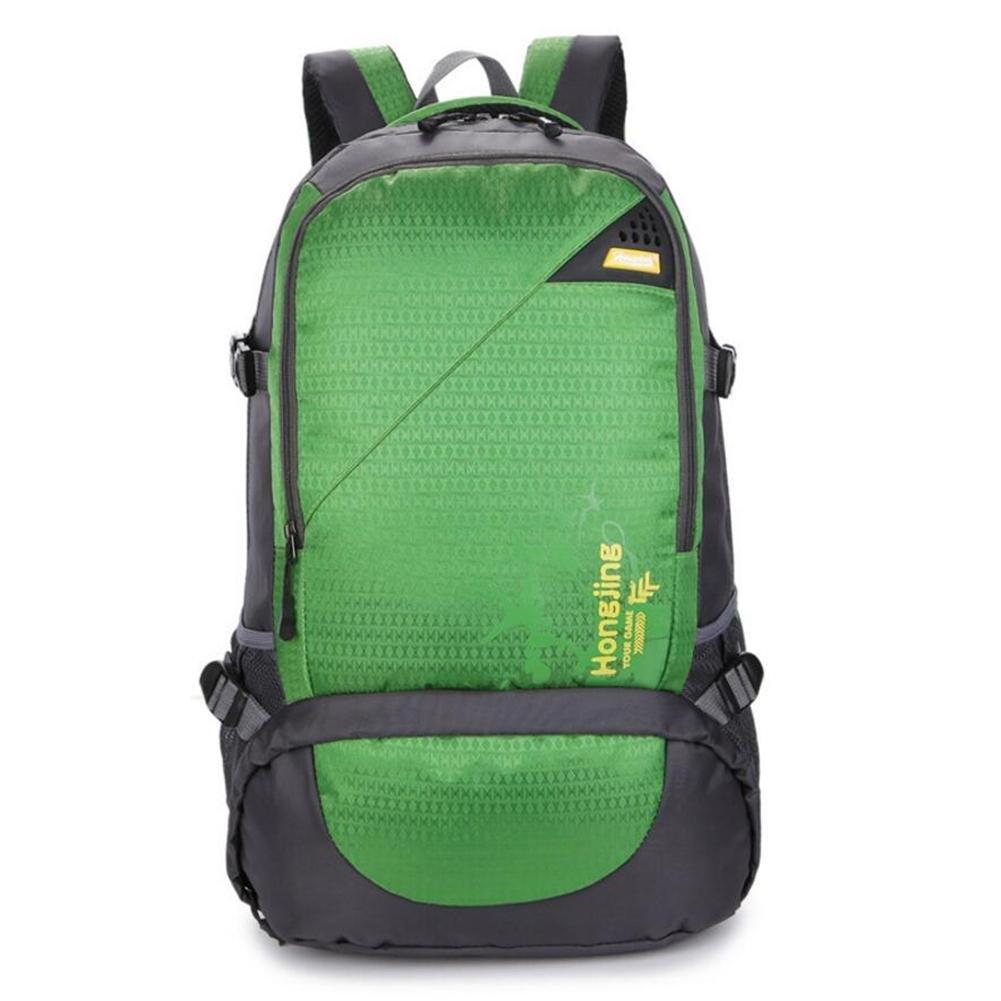 45lショルダーバッグ旅行大容量アウトドア登山パッケージレジャー動き B06Y67X2XYグリーン