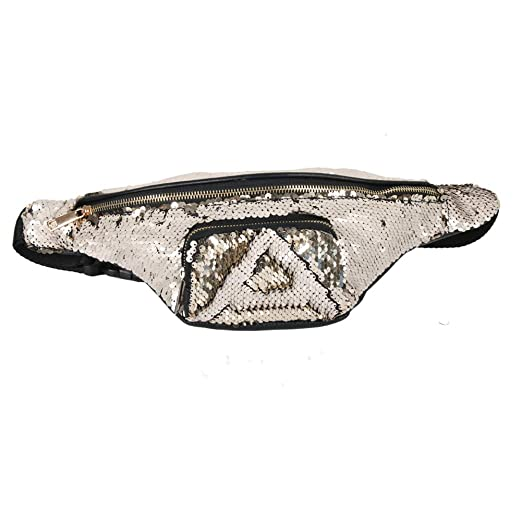 Amazon.com  Sequin Fanny Pack for Women - Wholesale Festival Glitter ... 561bf7cdbb