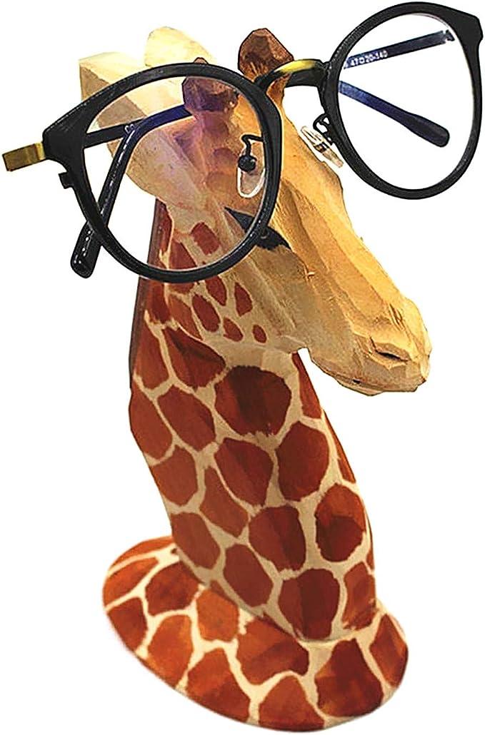 Native American made Giraffe Beaded Phone Grip  Holder  Stand