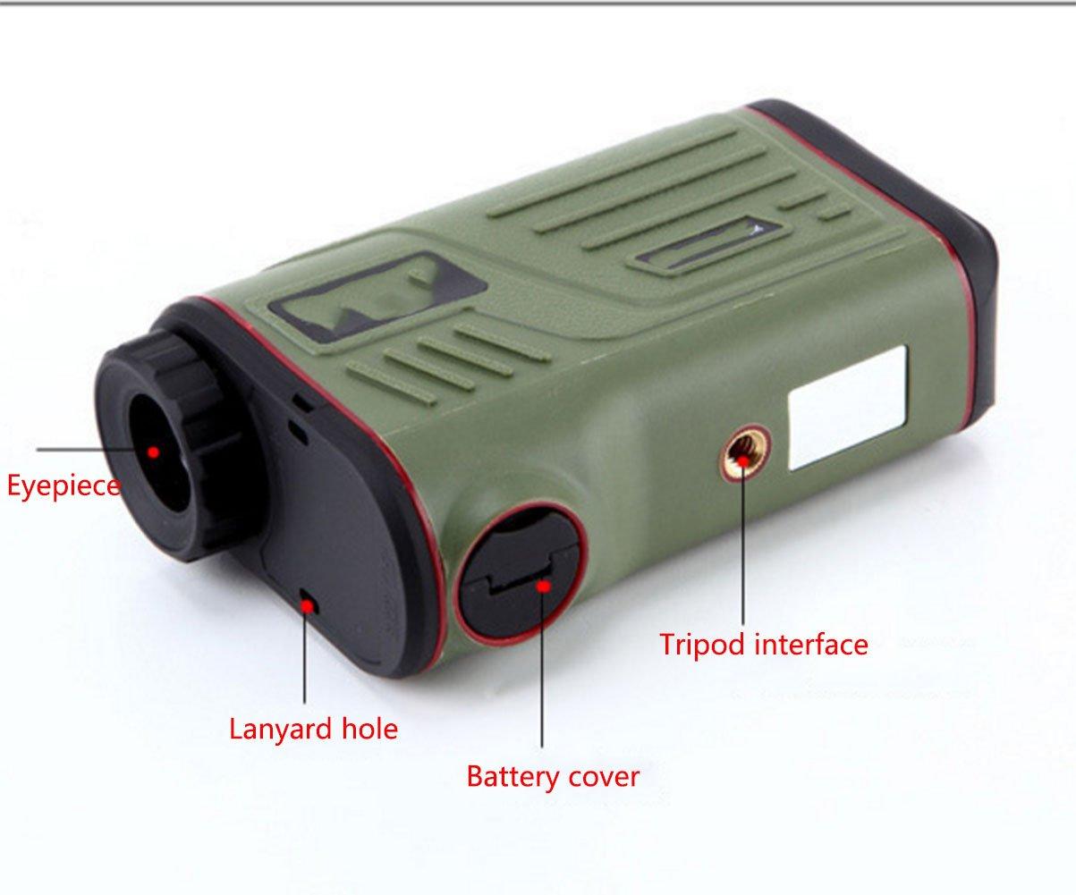 Ymxljj handheld laser entfernungsmesser 1000 mt hochpräzise