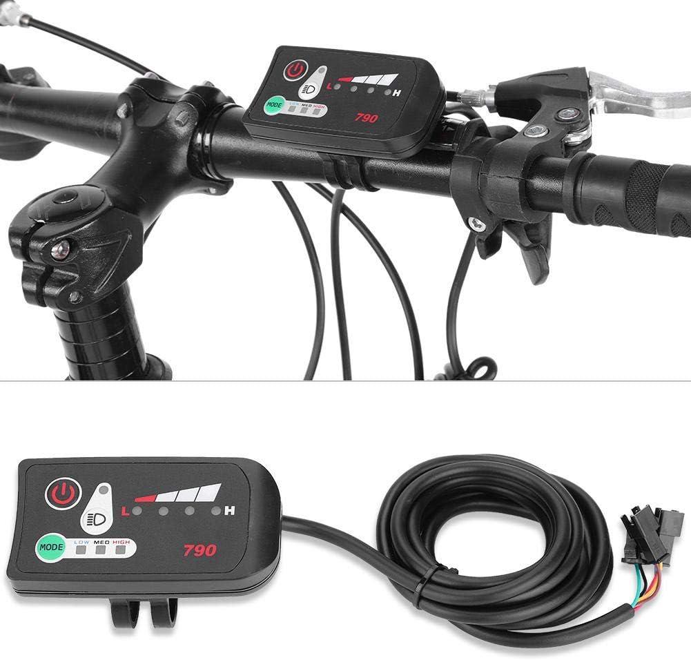 Accesorios de la Bici DIY para la Bici el/éctrica de la Bicicleta Bnineteenteam Panel de Control de la Pantalla LED el/éctrica de la Bici de 24V 36V 48V