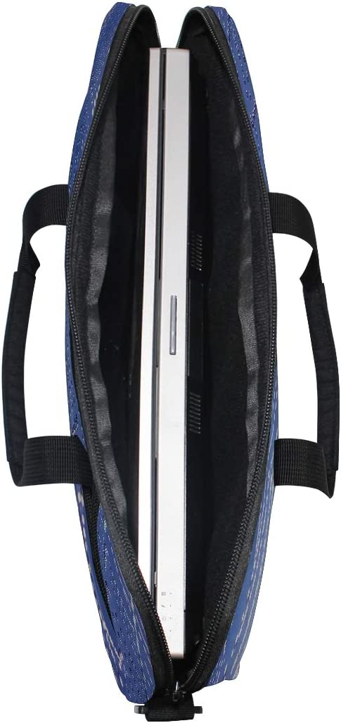 Maxm Web Net Drops Wet Laptop Shoulder Messenger Bag Case Sleeve for 14 Inch to 15.6 Inch with Adjustable Notebook Shoulder Strap