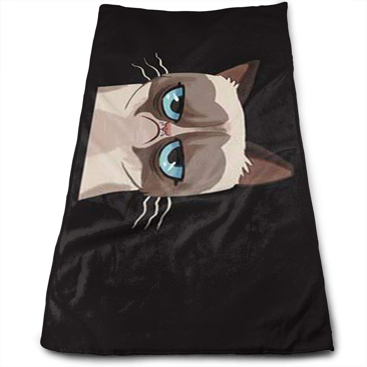 Grumpy Cat 100% Cotton, Fade Resistant, Highly Absorbent, Machine Washable, Hotel Quality, Soft Absorbent Towel best bags
