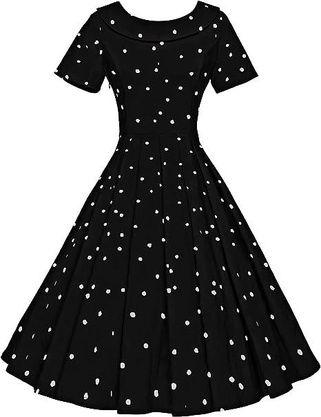Amazon.com: GownTown Vestido de fiesta estilo Audrey Hepburn ...