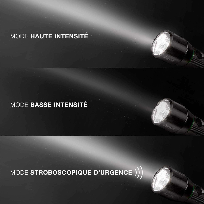 Impact Rubber Piles Incluses Energizer Lampe Torche /à LED