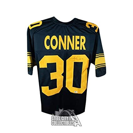 Autographed James Conner Jersey - Custom Alternate BAS COA - Beckett  Authentication - Autographed NFL Jerseys 947bdb0bc