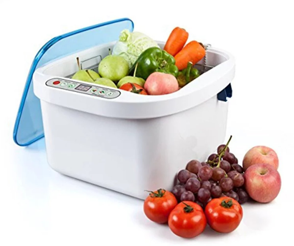 12.8L Home Use Ultrasonic Ozone Vegetable Fruit Sterilizer Cleaner Washer Health by Sololife US STOCK by Sololife (Image #6)