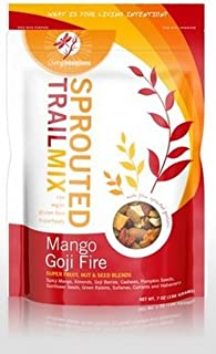 product image for Living Intentions, Organic Sprouted Trail Mix; Mango Goji, Pack of 15, Size - LB, Quantity - 1 Case