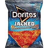 Frito Lay, Doritos, Jacked, Ranch Dipped Hot Wings. 10oz Bag (Pack of 3)