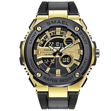 SW Watches SMAEL Marca De Lujo Hombres Relojes Militares Relojes Deportivos Digitales para Hombres Relojes De