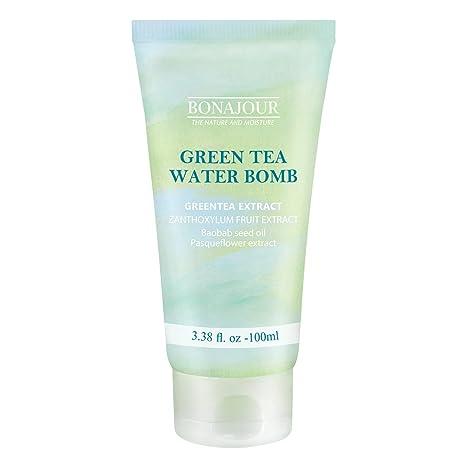 BONAJOUR El té verde crema hidratante natural para la piel seca y sensible, mejor crema