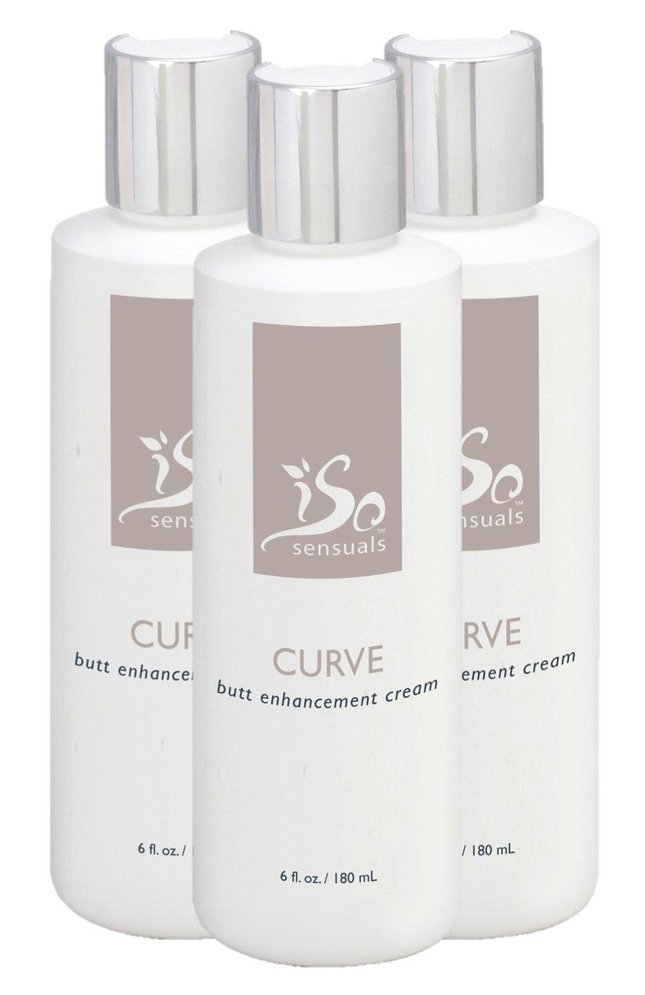 IsoSensuals CURVE | Butt Enhancement Cream - 3 Bottles