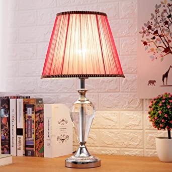 Lámpara de mesa de boda europea minimalista moderna lámpara de ...