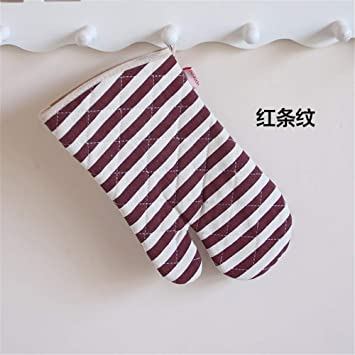 a0edaf5135f Image Unavailable. Image not available for. Color  High Temperature  Resistant Gloves Cotton and Linen ...