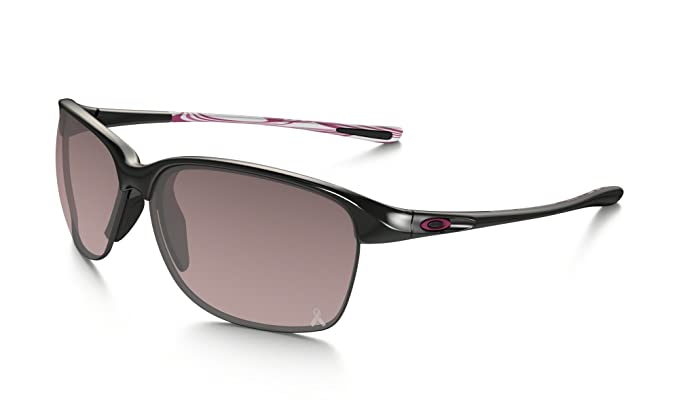 brown oakley sunglasses 36qm  Oakley Womens Unstoppable Sunglasses OO9191 Black/Black Plastic