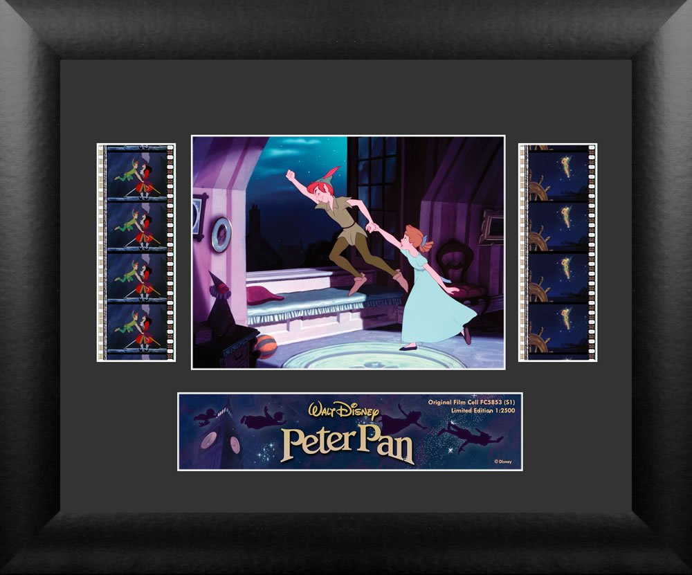 Filmcells Peter Pan Double Framed Art, S1