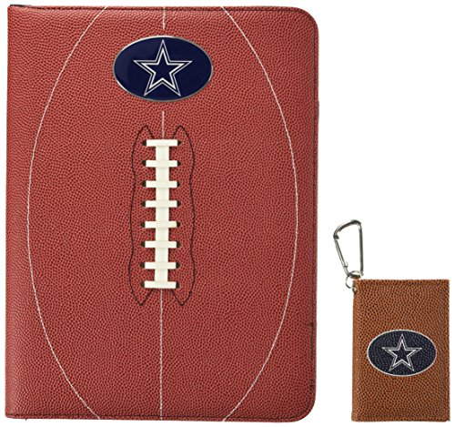 GameWear NFL Dallas Cowboys Classic Football Portfolio & ID Holder Gift Pack, One Size, Brown (Football Portfolio)
