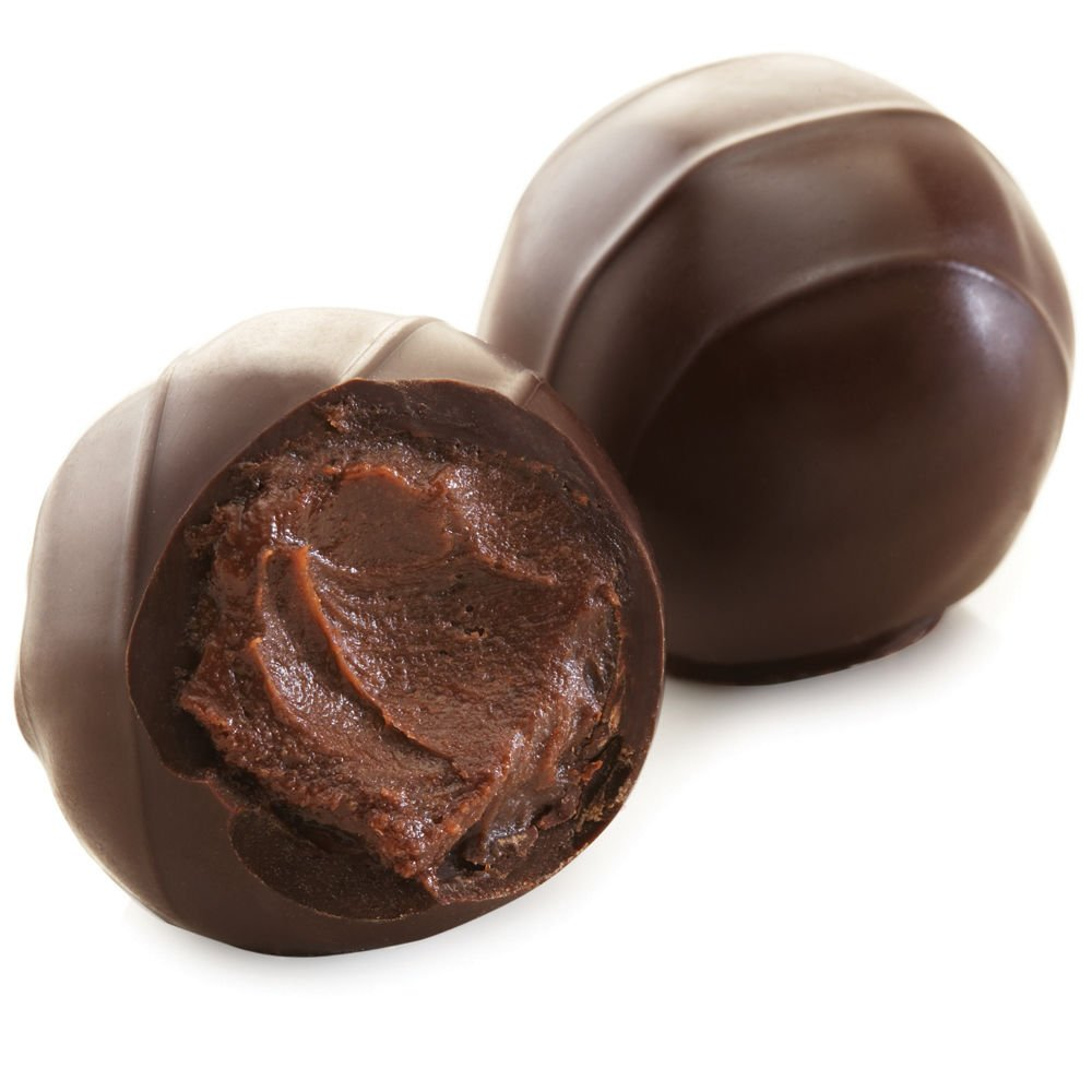 Godiva Chocolatier Assorted Dark Decadence Truffle Flight, Great for Gifting, Dark Chocolate Truffles, 6 pc by GODIVA Chocolatier (Image #4)