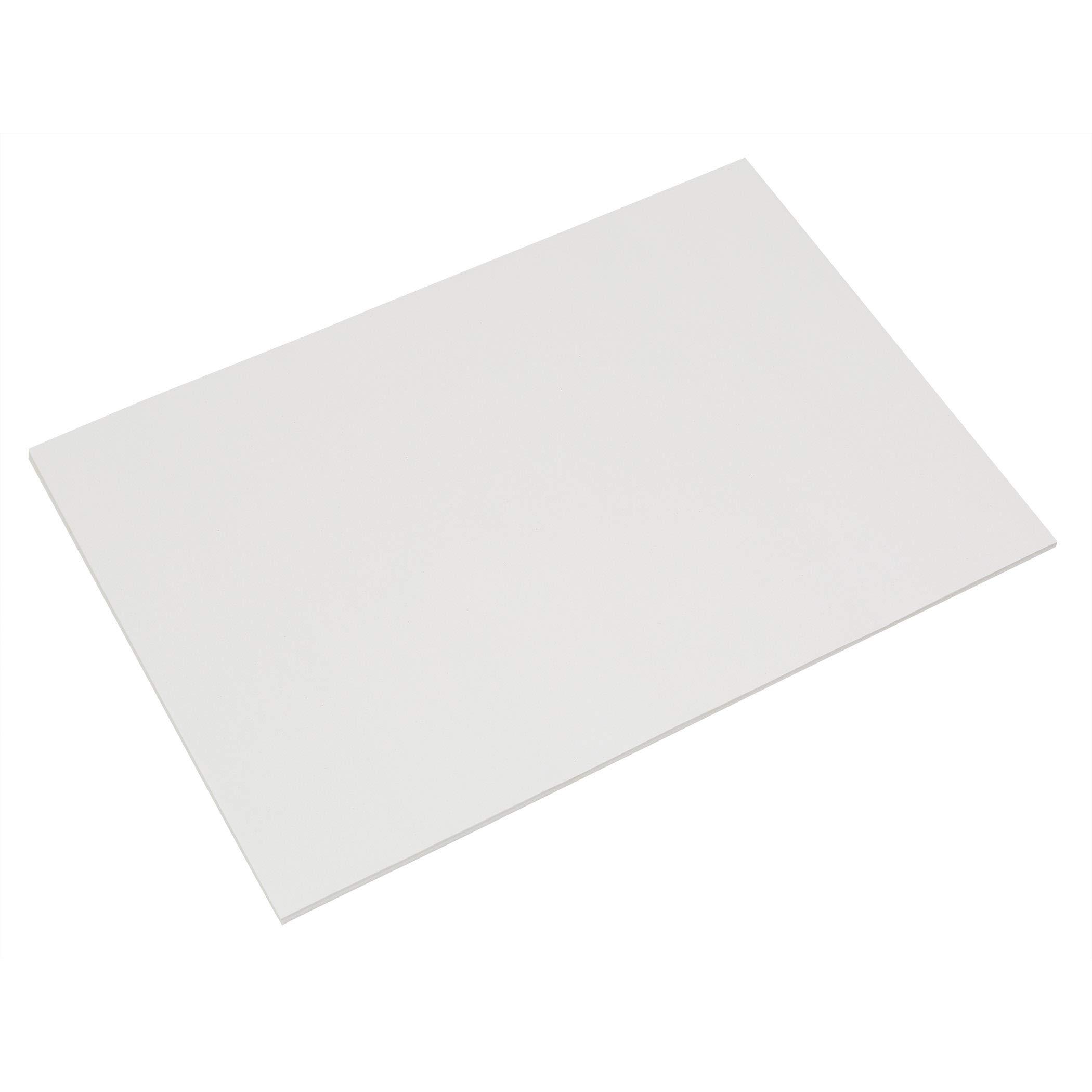 Pacon PAC5316BN Fingerpaint Paper, White, 16'' x 22'', 100 Sheets Per Pack, 3 Packs