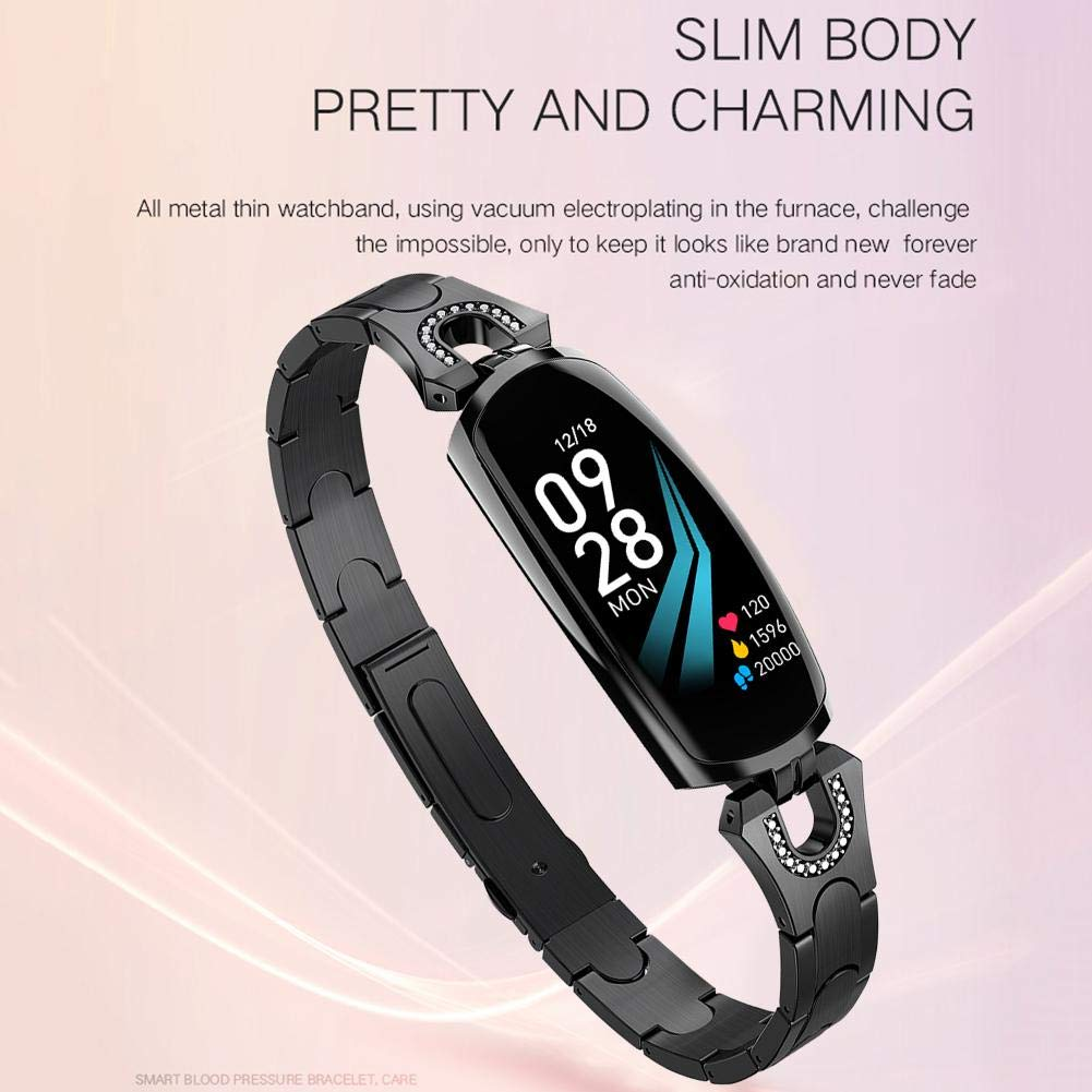 AK16 - Reloj Inteligente para Mujer (Resistente al Agua), diseño ...