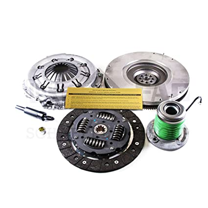 Amazon.com: LUK CLUTCH KIT SLAVE CYL w/ FLYWHEEL REPSET 05-10 FORD MUSTANG 4.0L 6CYL: Automotive