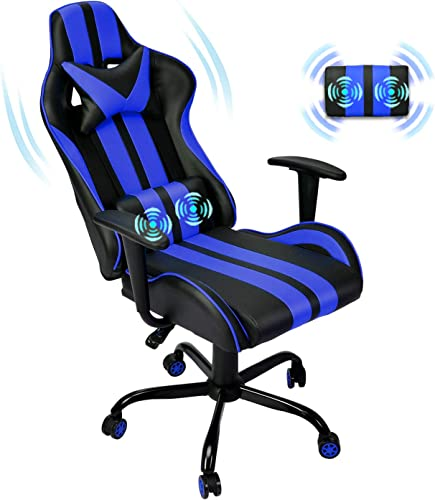 Ferghana Racing Style PC Computer Chair,Video Gaming Chair,Ergonomic Office Chair - the best computer gaming chair for the money