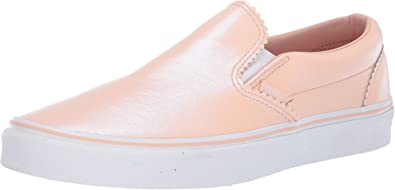 Amazon.com | Vans Classic Slip ON Pearl