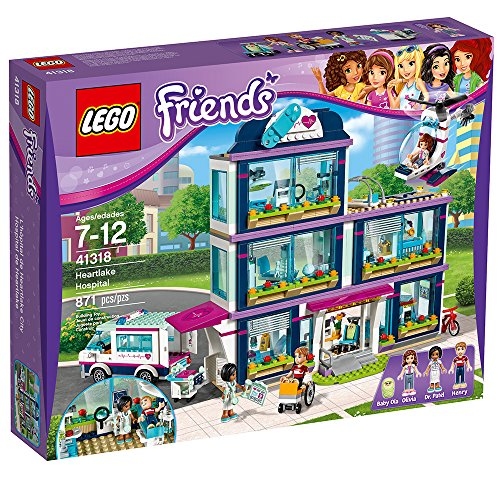 LEGO Friends Heartlake Hospital 41318 Building Kit (871 Piece) by LEGO (Image #4)