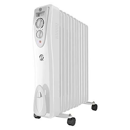 dfb5d155030 fam famgizmo Oil Filled Radiator Portable Electric Heater with 3 Heat  Settings - Thermostat - Thermal