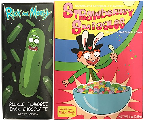 Leprechaun Tiny Top Hat (Rick & Morty Strawberry Smiggles Exclusive Breakfast Cereal & Pickle Flavored Dark Chocolate Bar)