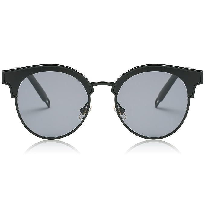 Amazon.com: SojoS SJ1055 gafas de sol ojo de gato extra ...