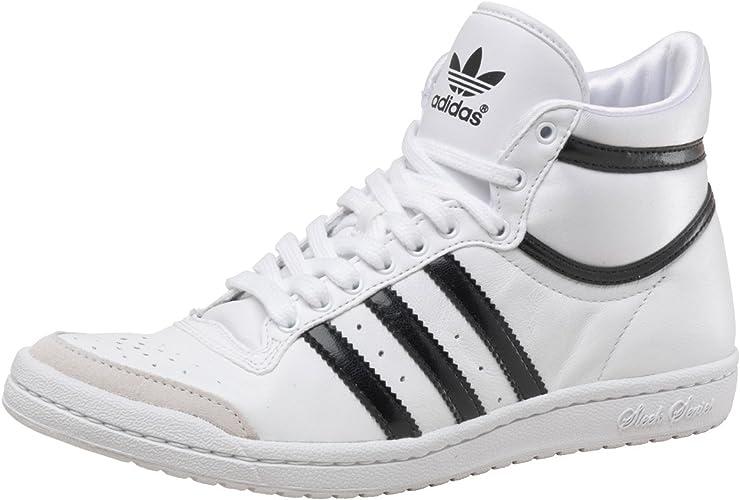 antena Cambios de Hacia abajo  adidas Originals Womens Top Ten Hi Sleek Trainers White/Black 7 UK:  Amazon.co.uk: Shoes & Bags
