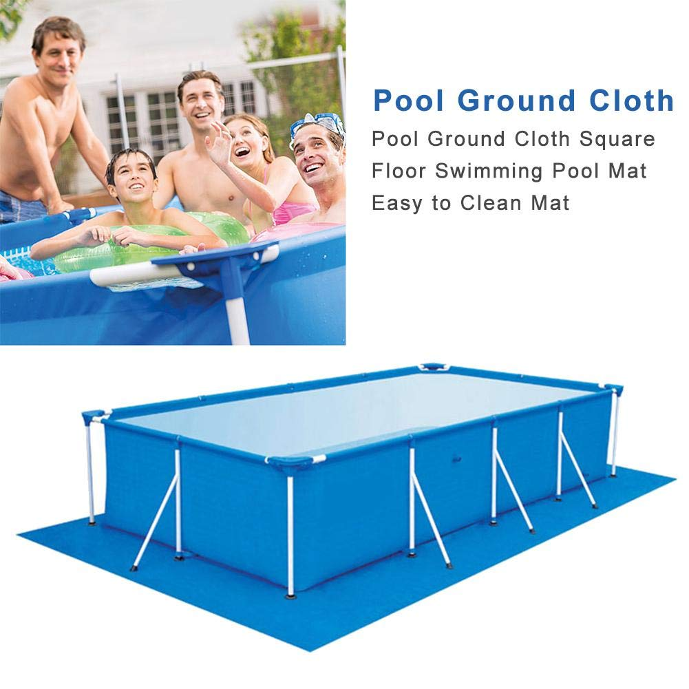 Lazy Spa Mat Protector Under Pool Mat Pool Floor Protector 295 * 206cm BSTCAR Rectangle Swimming Pool Mat Ground Cloth for Swimming Pools Thicken Foldable Paddling Pool Mat